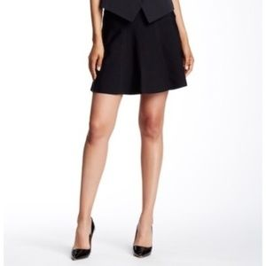TED BAKER Heven Fluted Skirt Stretch Size 4/10 H13